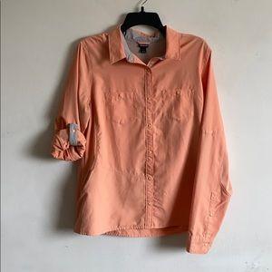 Patagonia Salmon Button-down Fishing Shirt